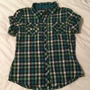 PacSun Tops - Plaid button shirt