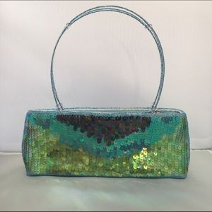 ⚜️VINTAGE 90's Mini Sequined Handbag ✨