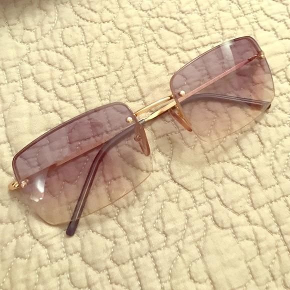 6ffe08f4ffd Gucci Accessories - Vintage Gucci rimless sunglasses GG1653