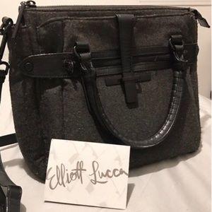 Elliott Lucca 'Lara' midi Satchel/ felt bag