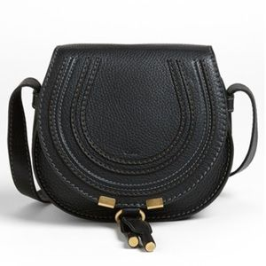 Chloe Handbags - Chloe black Marcie mini bag