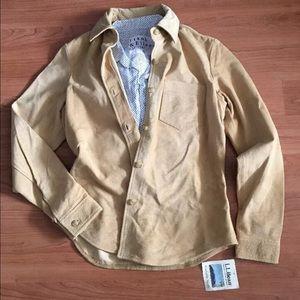 L.L. Bean Jackets & Blazers - L.L. Bean washable suede jacket