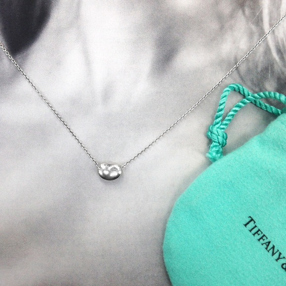 bdd453dfc Tiffany & Co. Jewelry | Elsa Peretti Bean Pendant Necklace | Poshmark