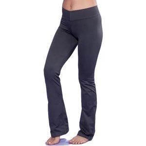 Nux Pants - Nux V-Fitness Black Yoga Pants