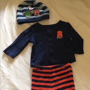 3 pieces just one you made by carter's boys wear