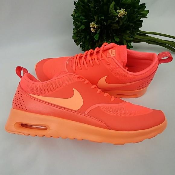 on sale 66766 9b0f1 Nike AIR MAX THEA Hot Lava Sunset Glow shoes. M 5881cdecc28456651504fc6b
