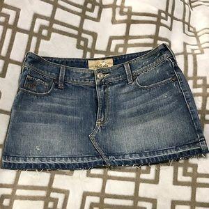 Low Rise Mini Skirt