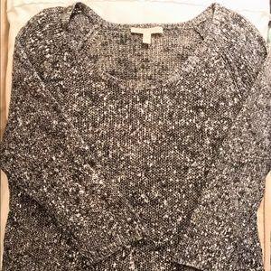 Eileen Fisher Linen Metallic Knit Sweater NWOT