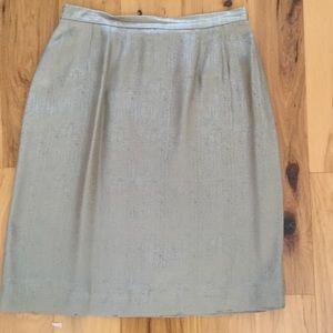 Le Suit Dresses & Skirts - Silk Pencil Skirt