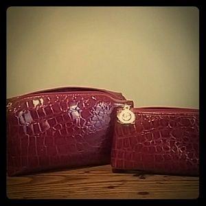 Estee Lauder Handbags - New Estee Lauder set of two cosmetic  bags