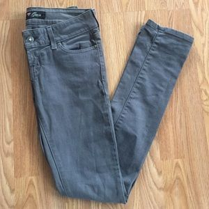 Guess Denim - Gray guess straight jeans