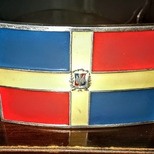Dominican Republic men or women's belt