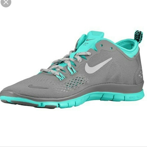 new styles 2c23d 44a25 Nike free run 5.0 Tri Fit 4 ash/turquoise size 10 NWT