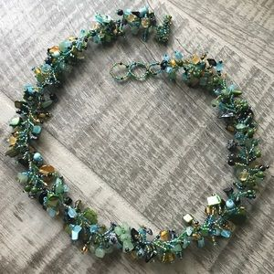Fun beaded necklace!