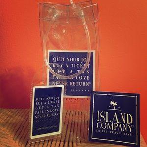 Island Company Handbags - 🌴☀️Super cute Island Company bottle bag & sticker