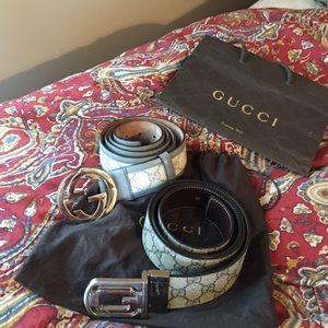 Gucci Other - Mens Gucci belt bundle! Or separate ! BOTH 100cm