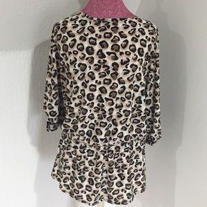 Isabelle Rodriquez Tops - Isabelle Rodriquez Leopard Print Top