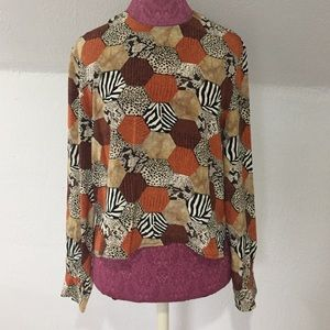 Adrianna Papell Tops - Adrianna Papell Vintage Silk Blouse