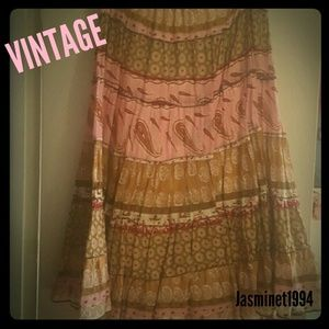 Miss Chievous Dresses & Skirts - Adorable VINTAGE long skirt! So cute!!!