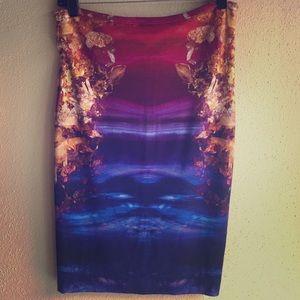 McQ Alexander McQueen Dresses & Skirts - Mcq Alexander McQueen jersey skirt