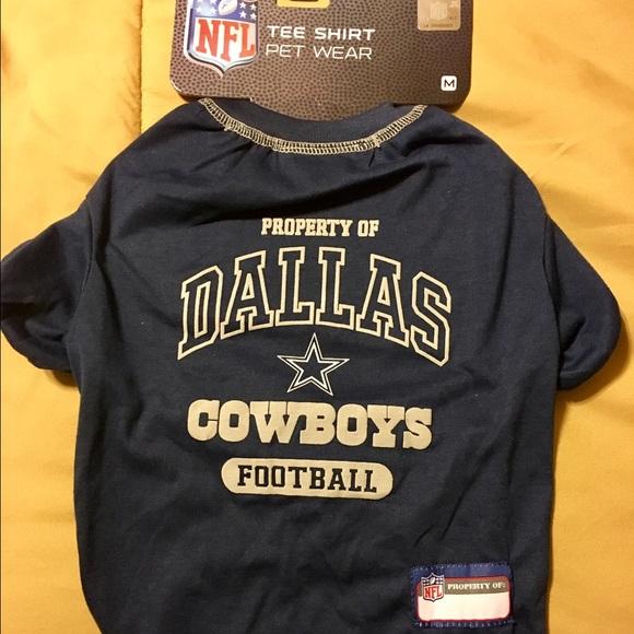 4a344f035 Dallas Cowboys NFL Dog Pet Tee