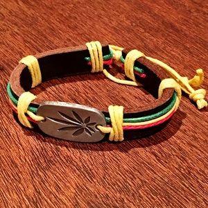 Marley Rasta Genuine Leather Wrap For Women & Men