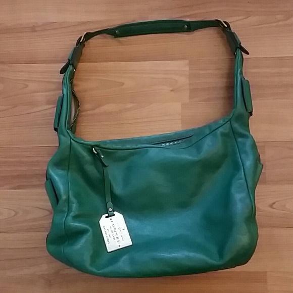 Lauren Ralph Lauren Handbags - Lauren Ralph Lauren green leather shoulder  bag b8cd7dac64