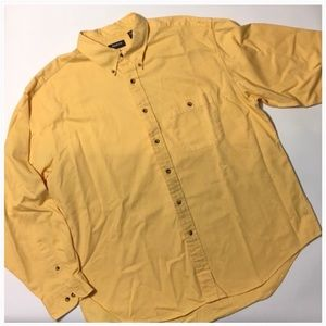 Arrow Other - ❎3/$15 Arrow Creamy Yellow Button-down Shirt XL