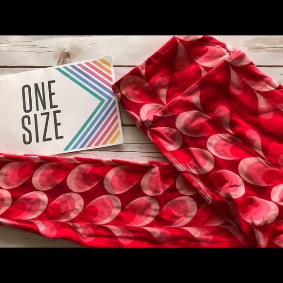 Clothing, Shoes & Accessories Lularoe Pink Perfect T Xl & Tc Bird Leggings