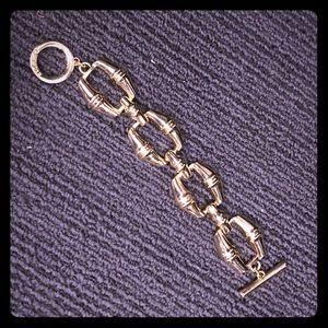 cwonder Jewelry - Gold bamboo bracelet
