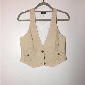 J. Crew Jackets & Blazers - BNWOT J. Crew pinstriped menswear vest S