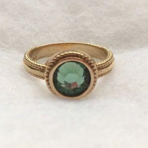 Jessica Elliot Jewelry - Round Bezel Solitaire Swarovski ring