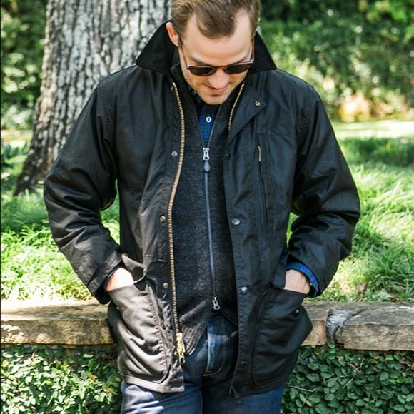d53e33214 Men's Small Filson Cover Cloth Mile Marker Coat