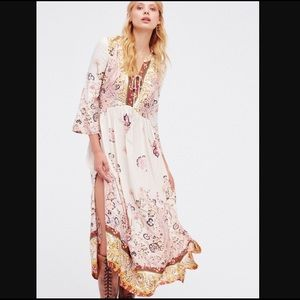 Free People If You Only Knew Maxi Dress In Ivory