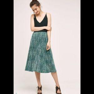 Anthropologie Maeve Wynne Knit Skirt Medium