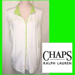Chaps Jackets & Blazers - Chaps by Ralph Lauren Knit Vest Jacket