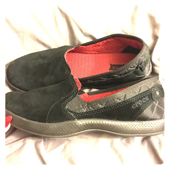8641281a2 CROCS Shoes - Crocs AnyWeather Suede Loafer (Rare)