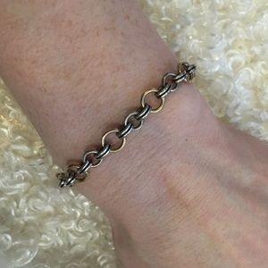 James Avery Jewelry - James Avery gold & silver link charm bracelet