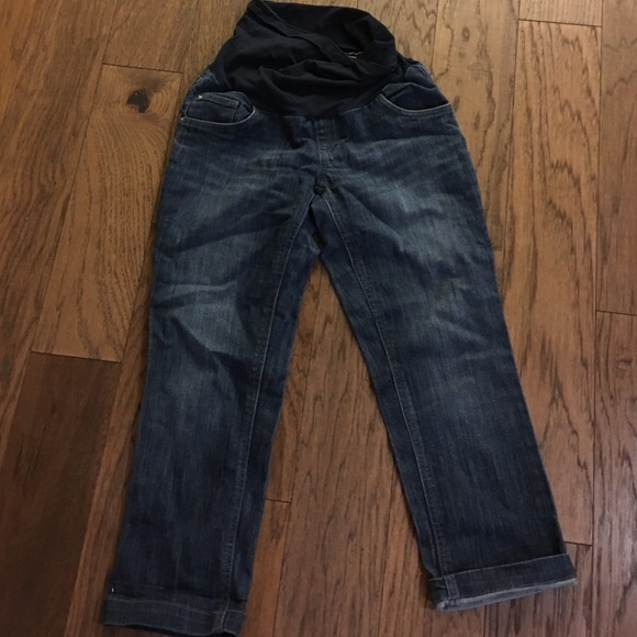 Two Hearts Maternity Jeans Two Hearts Maternity Caprism Poshmark