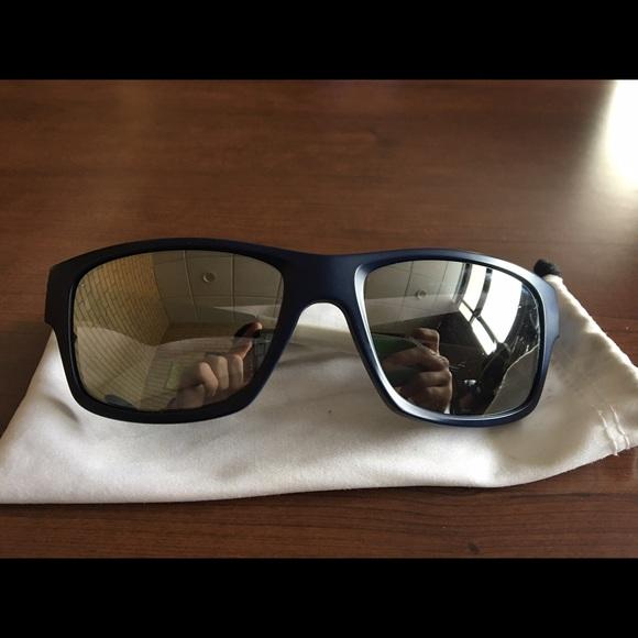 oakley accessories jupiter squared navy blue red white poshmark rh poshmark com