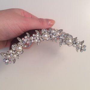 Accessories - Swarovski Crystal Hairpiece