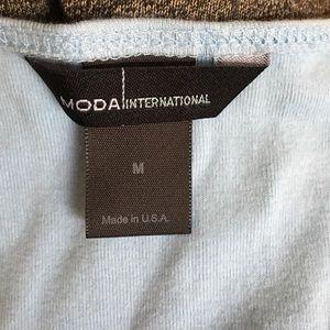 Moda International Tops - Moda International fitted tank top.