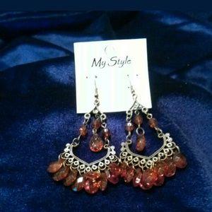 Gorgeous Teardrop Chandelier Earrings