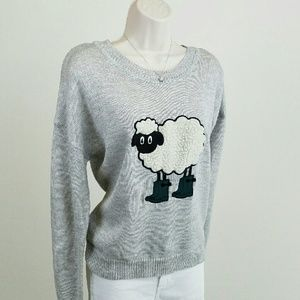 Polly & Esther Sweaters - Sheep in boots sweater