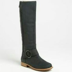 OluKai Shoes - Olukai knee high gray leather /suede size 6 NWT!!