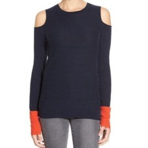 Bailey 44 Sweaters - BAILEY44 Pop Cold Shoulder Sweater
