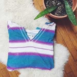 American Eagle Outfitters Tops - AEO Striped Hoodie