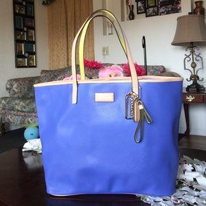Coach Handbags - Coach Park Metro Leather Tote Handbag