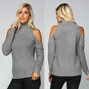 1 HR SALEDEE Textured Sweater - GREY