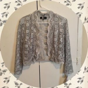 Macy's Sweaters - $5 SALE! Fairy Dust Lace Cardigan ✨